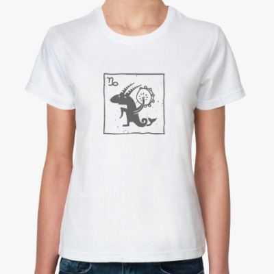 Классическая футболка Козерог