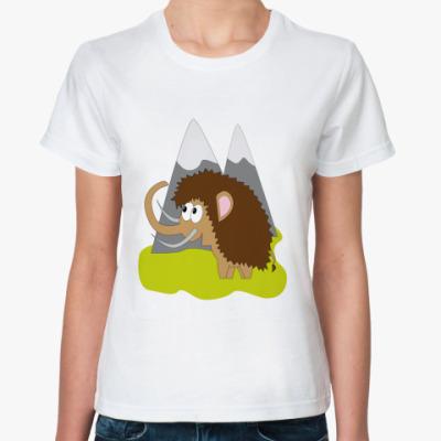 Классическая футболка   Мамонт=)