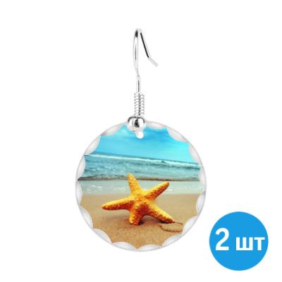 Серьги Морская звезда