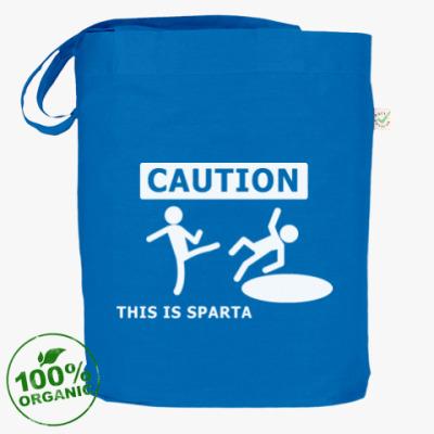 Сумка Caution: this is Sparta