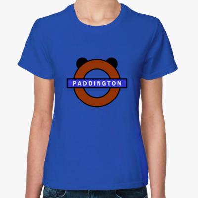 Женская футболка Паддингтон