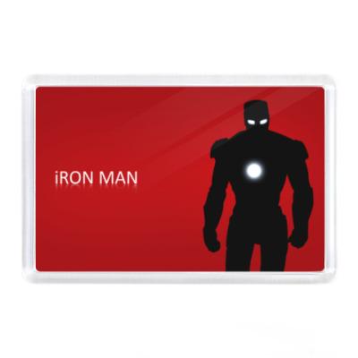 Магнит Iron Man, фэн-арт