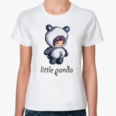 Классическая футболка  Little Panda
