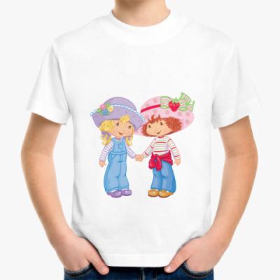 Детская футболка Две подружки
