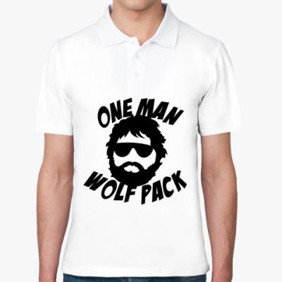 Рубашка поло  Человек-волчья стая