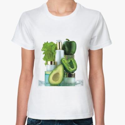 Классическая футболка Красота