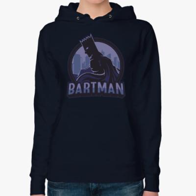 Женская толстовка худи Bartman
