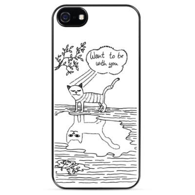 Чехол для iPhone Кот Валентин