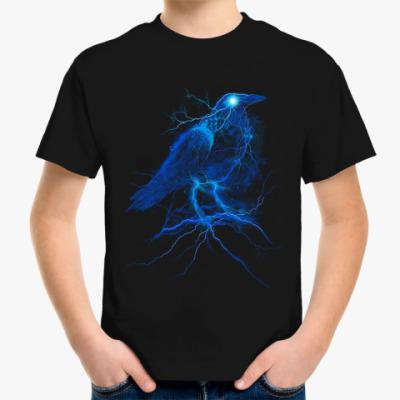 Детская футболка Ворона