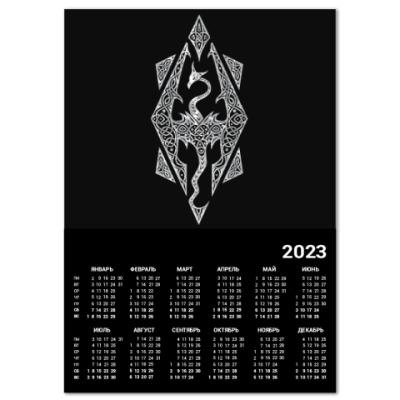 Календарь The Elder Scrolls V Skyrim