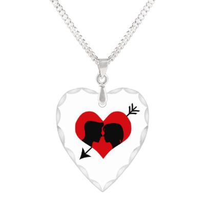 Кулон 'сердце' Сердце хочет любви