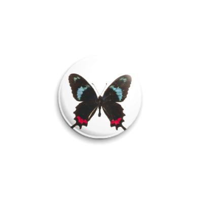 Значок 25мм  Бабочка 24