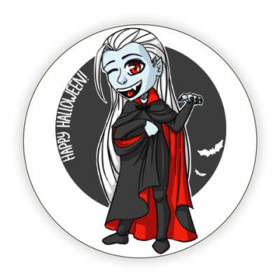 Костер (подставка под кружку) Вампир