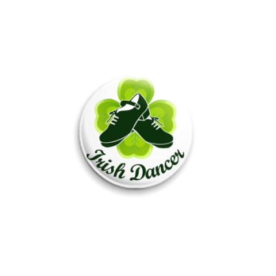 Значок 25мм Irish Dancer