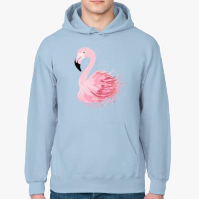 Толстовка худи Розовый фламинго