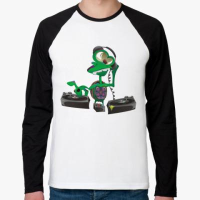 Футболка реглан с длинным рукавом DJ Turtle