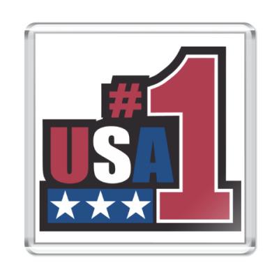 Магнит USA 1