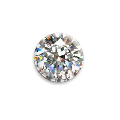 Значок 25мм Diamond