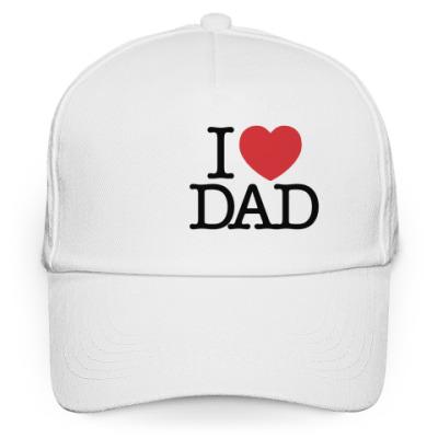 Кепка бейсболка  i love DAD