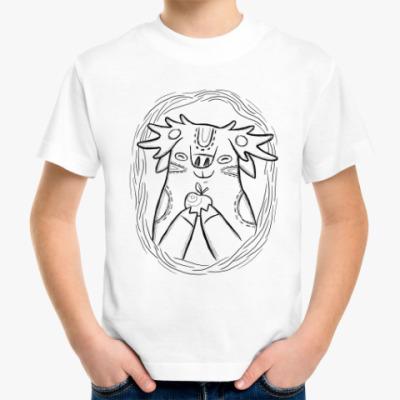Детская футболка Лось