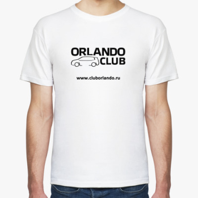 Футболка  футболка (крас. лог)