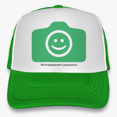 Кепка-тракер Кепка  (зеленый неон)