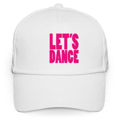 Кепка бейсболка Let's dance