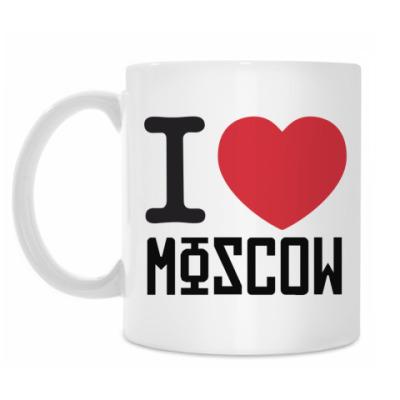 Кружка I Love Moscow