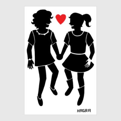Постер Весёлые лесбиянки