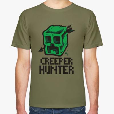 Футболка  Creeper hunter