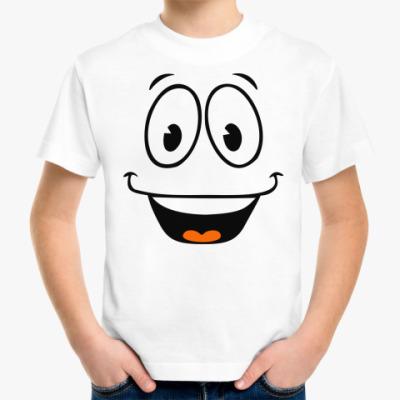 Детская футболка Радостный смайл