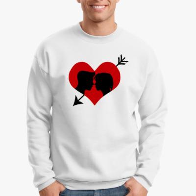 Свитшот Сердце хочет любви