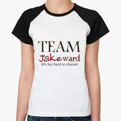 Женская футболка реглан Jakeward