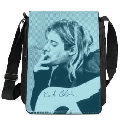 Сумка-планшет Kurt Cobain