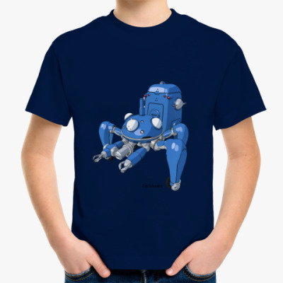 Детская футболка призрак в доспехах