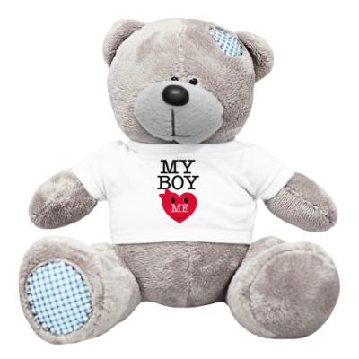 Плюшевый мишка Тедди My Boy Love Me!