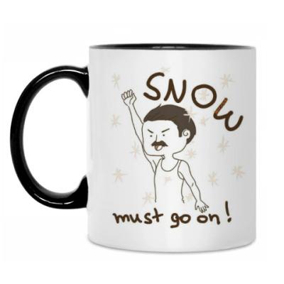 Кружка SNOW must go on !