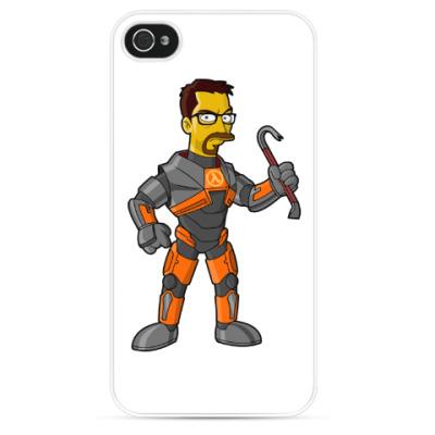 Чехол для iPhone Half-Life (Симпсоны)