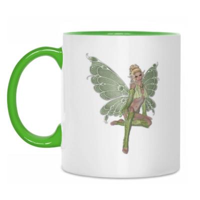 Кружка Зеленая фея