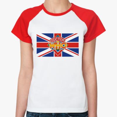 Женская футболка реглан Doctor Ху