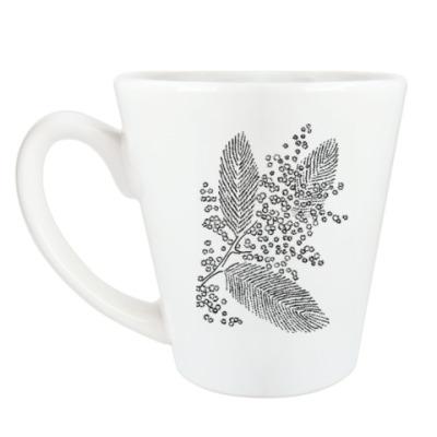 Чашка Латте Мимоза