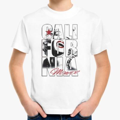 Детская футболка Монро в Калифорнии
