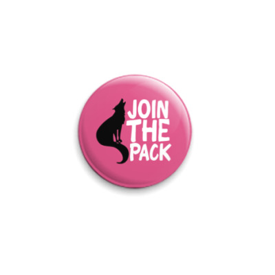 Значок 25мм Join the pack