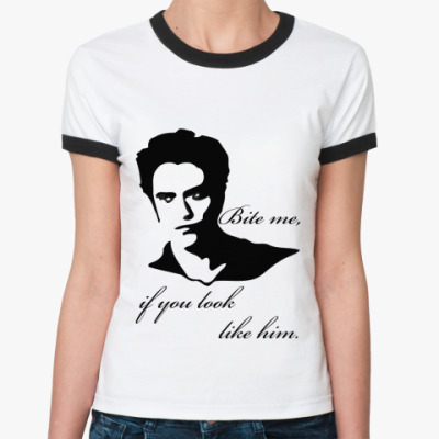 Женская футболка Ringer-T Like him