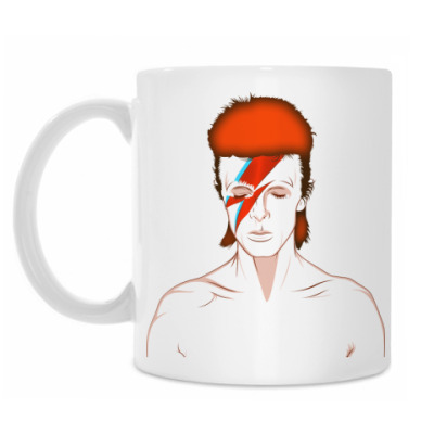 Кружка David Bowie