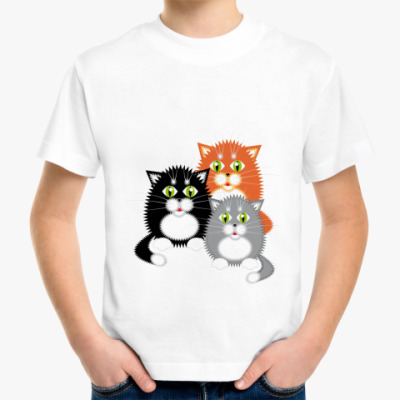 Детская футболка Котята