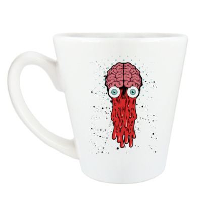 Чашка Латте Brain
