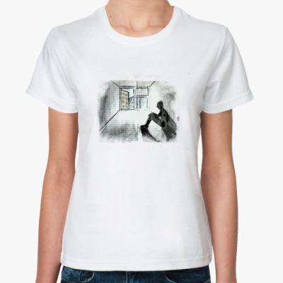 Классическая футболка одиночество