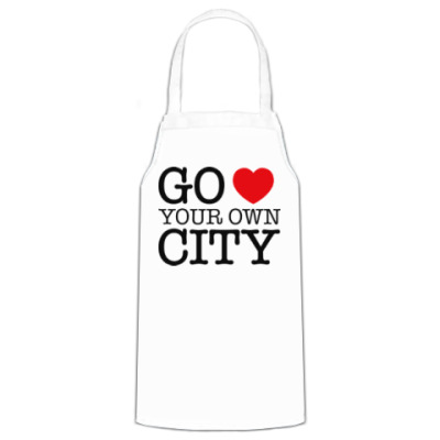 Фартук Love your own city