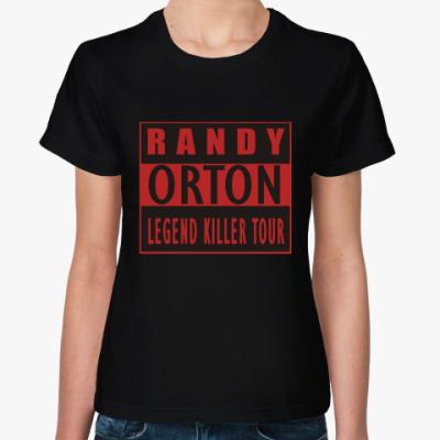 Женская футболка Randy Orton